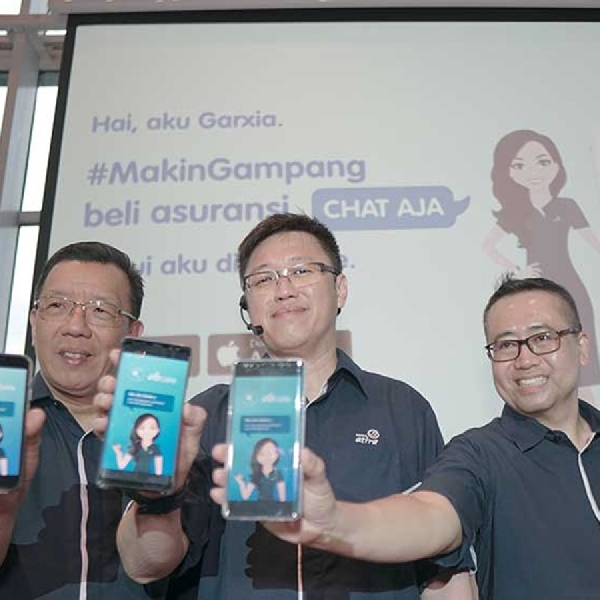 Asuransi Astra Kenalkan Garxia Virtual Assistant