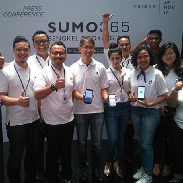 SUMO365 Berikan Kemudahan untuk Service Motor