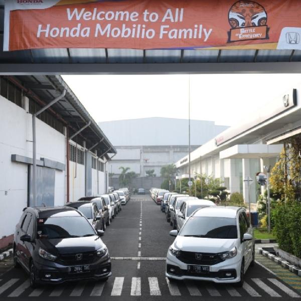 Di Final Lomba Hemat Bahan Bakar, Honda Mobilio Raih 26,8 km/l