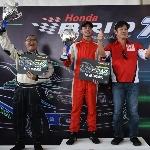 Pembalap Muda ini Raih Juara di Brio Speed Challenge