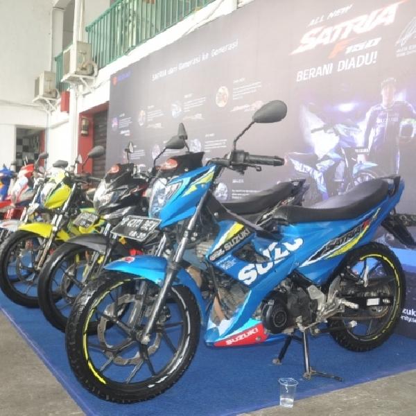 Suzuki Resmi Luncurkan Suzuki All New Satria F150 Injection