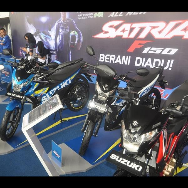 Suzuki Satria F150 dan NEX II Menjadi Backbone Penjualan Roda Dua di 2019