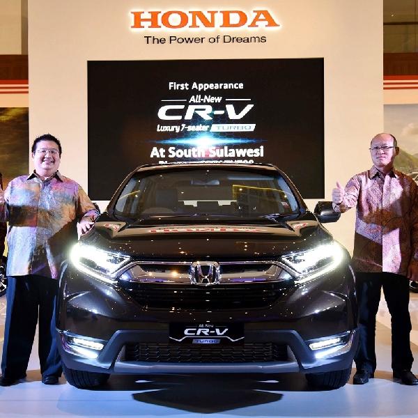 All New CR-V Sapa Makassar Auto Show 2017