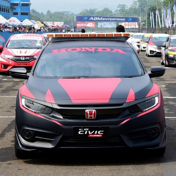 Honda Civic Hatchback Turbo Didapuk Menjadi Official Car di ISSOM 2017