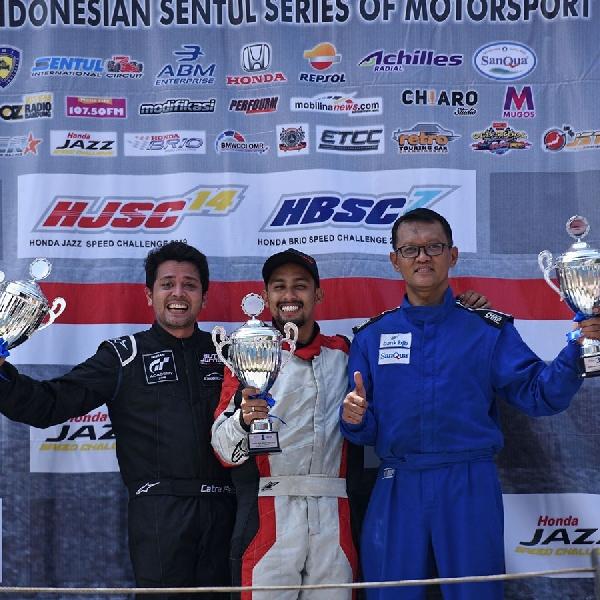 Rizky Abdullah Sang Rookie, yang Juarai Honda Brio Speed Challenge Seri Kedua