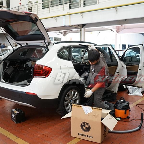 Kisah Penanganan Mobil Terkena Banjir BMW Astra (Part 2)