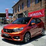 Mobil LCGC Honda Cukup Diminati Konsumen