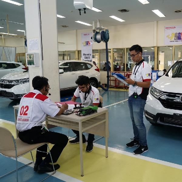 Tingkatkan Mutu SDM, Honda Adakan Skill Contest 2020