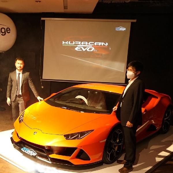 Lamborghini Huracan Evo Resmi Melantai di Indonesia, Disambut Langsung Pembeli Pertama
