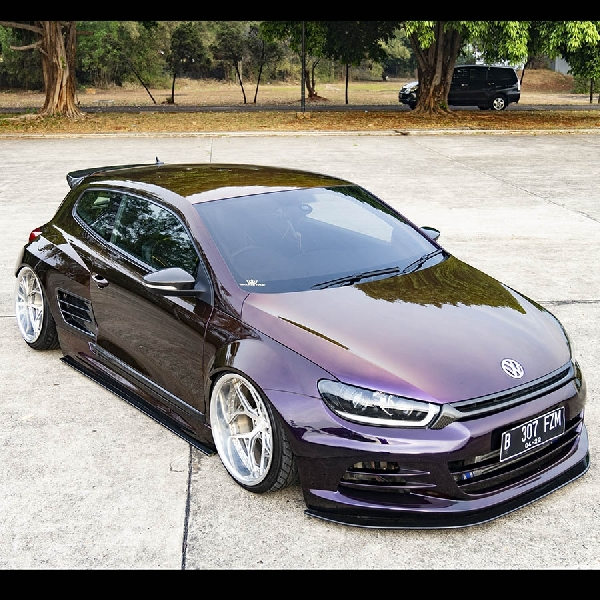 Modifikasi Scirocco 1.4 TSI, Daily Driven Extreme Wide  Body