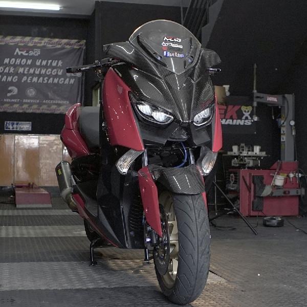 Yamaha X-Max, Skuter Harian Pake Part Hedon Punya Prestige Lebih