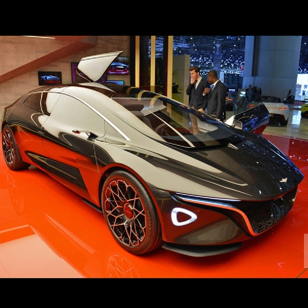 Aston Martin Luncurkan Lagonda Vision Concept, Sedan Otonom Luxury Segment