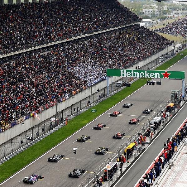 F1: Dua Balapan Formula 1 di Grand Prix China Belum Diputuskan