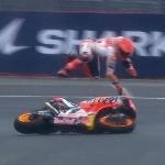 MotoGP: Dua Kali Terjatuh di MotoGP Perancis 2021, Begini Penjelasan Marc Marquez