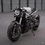Mengenal Ducati 848 Evo Cafe Racer Garapan Motocrew