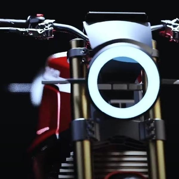860-E: Konsep Motor Elektrik dari Ducati yang Bergaya Retro