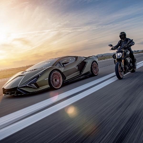 Terinspirasi Sian FKP 37, Ducati Diavel 1260 Lamborghini Meluncur Sebagai Motor Edisi Terbatas