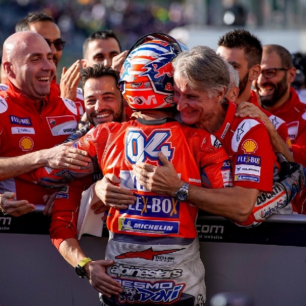 "MotoGP: Ducati: ""Kami Adalah Pilihan Terbaik Untuk Dovizioso"""