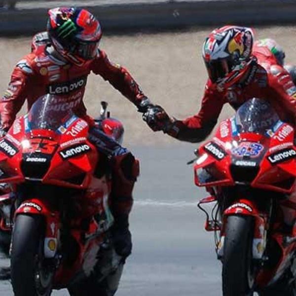 MotoGP: Duo Ducati Incar Kemenangan di Mugello