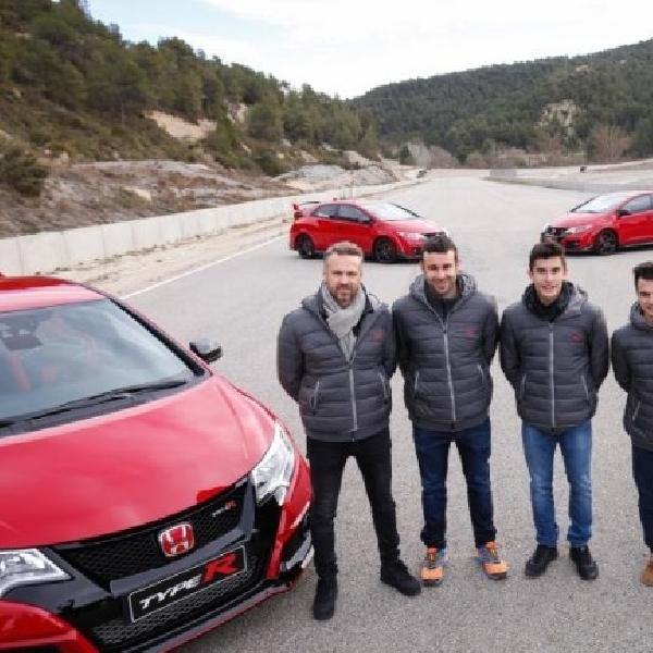 MotoGP: Duo Repsol Honda Cicipi Civic Type R