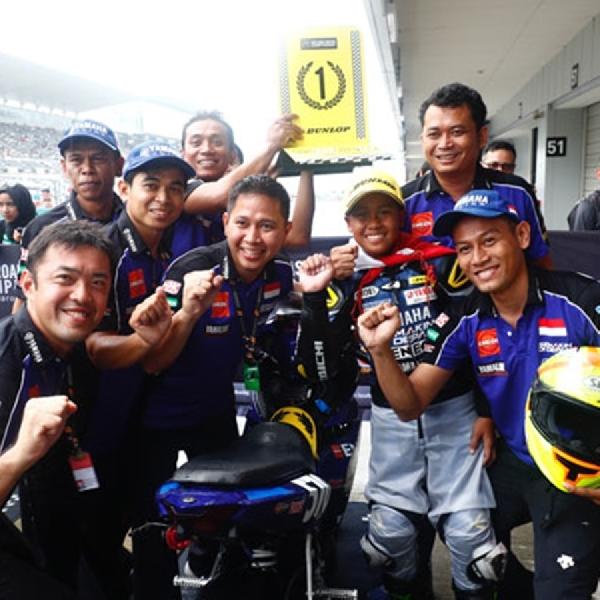 Tim Yamaha Racing Indonesia Kibarkan Merah Putih Di ARRC
