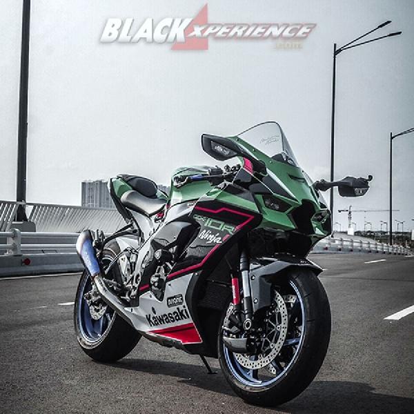 Kawasaki Ninja ZX10R 2021, Lebih Bertenaga, Ringan   dan Aerodinamis