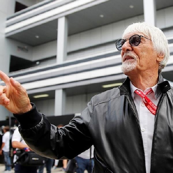 F1: Ecclestone Anggap Corona Sebagai Ancaman Terbesar di Formula 1