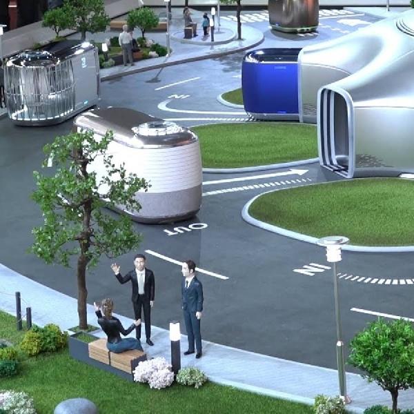 Komitmen Hyundai Untuk Masa Depan dengan Miniatur Smart Mobility Ecosystem