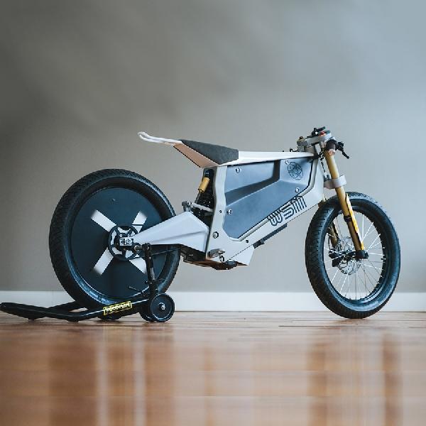 Max Minimalism: Konsep e-Bike Baru Walt Siegel