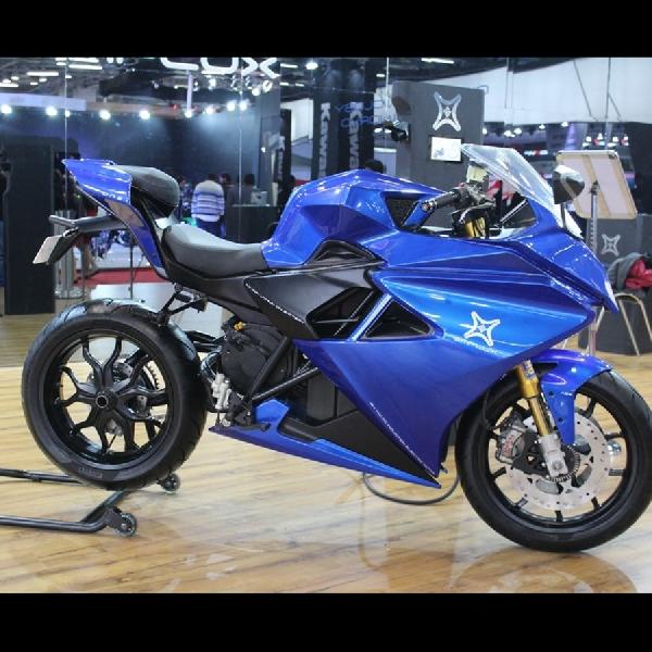 Emflux One Sportsbike Elektrik Pertama India