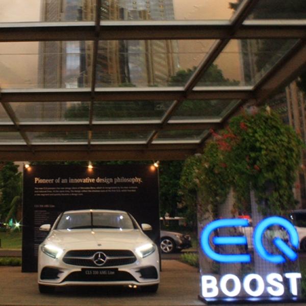 Kemungkinan Pengaplikasian EQ Boost di SUV Mercedes-Benz