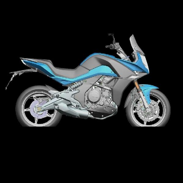 CF Moto 650 Mirip dengan Kawasaki Versys akan Diluncurkan di India