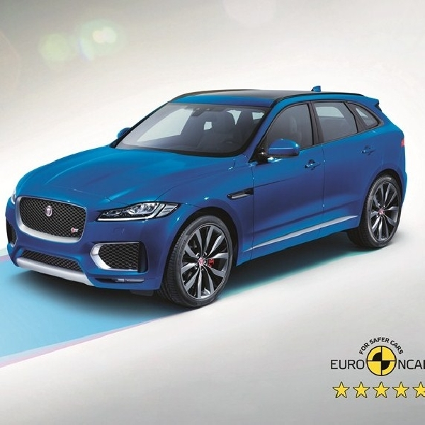 Jaguar F-PACE Raih Rating Tertinggi Euro NCAP