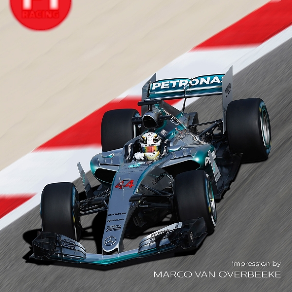 F1: Mercedes Segera Luncurkan Mobil Balap Formula 1 Terbaru