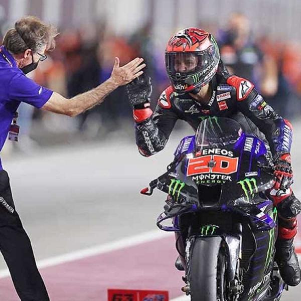 MotoGP: Fabio Quartararo Janjikan Potensi Besar Yamaha di Portimao