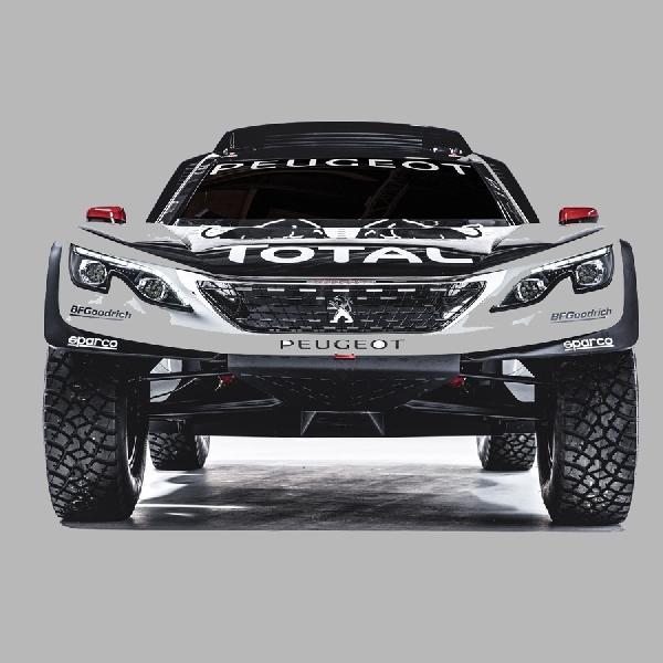 Peugeot Incar Kemenangan Dakar dengan 3008 DKR