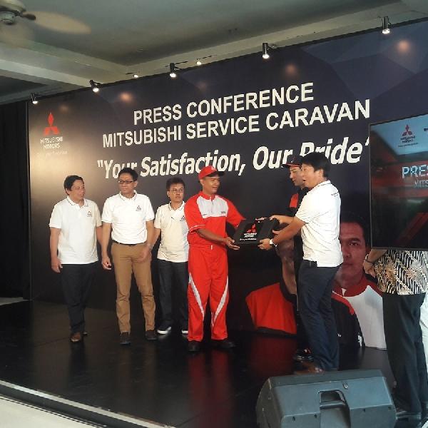 MMKSI Kembali Selenggara Program Mitsubishi Service Caravan bagi Para Konsumen