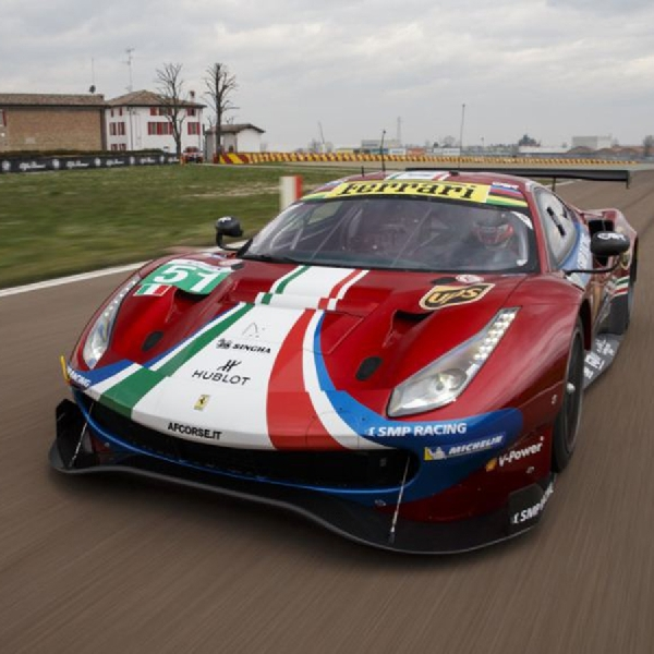 Sebelum Terjun Penuh di WEC, Ferrari Gunakan 488 GTE Evo untuk Ujicoba di Fiorano