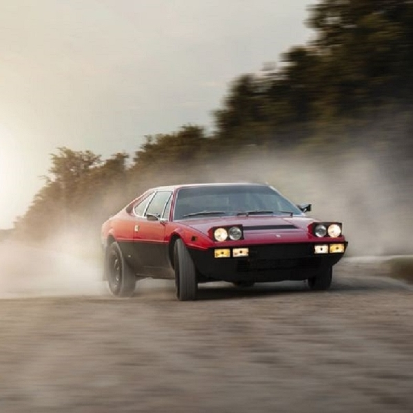 Ferrari 308 GT4 Dirubah jadi Safari, Siap Melumpur Tipis-tipis