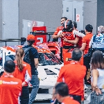 Kemenangan Ganda Renaldi Hutasoit di Race 2 Singapura