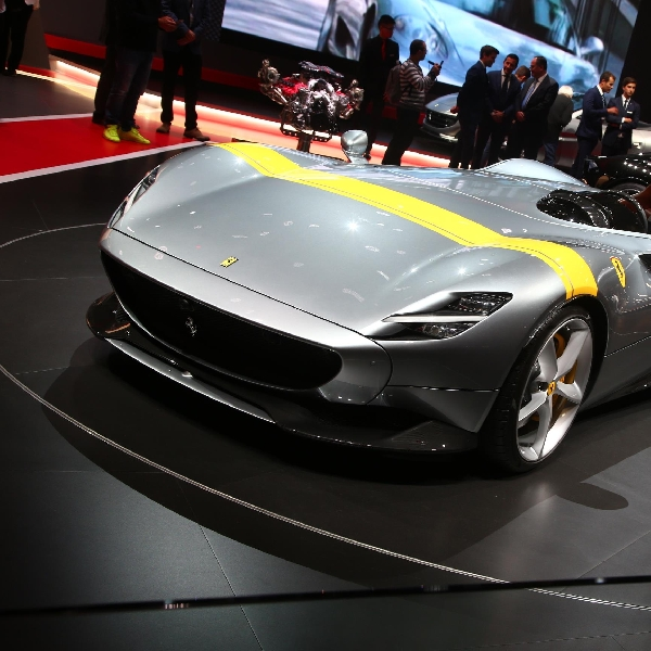 Susul Monza SP2, Ferrari Monza SP1 Diganjar Gold Award oleh iF Design Award 2019