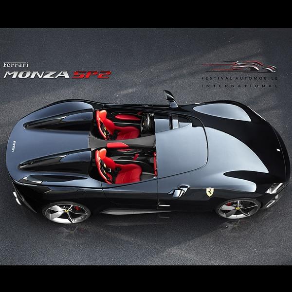 Ferrari Monza SP 2 Sandang Mobil Super Tercantik 2018  di ajang Paris Festival Automobile