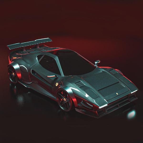 Inilah Tampilan Ferrari 288 GTO Retro