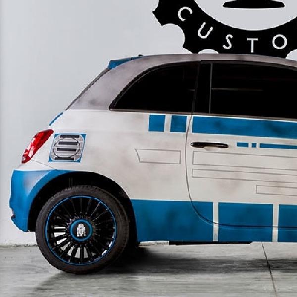 Fiat 500 Kostum Terinspirasi Dari Star Wars