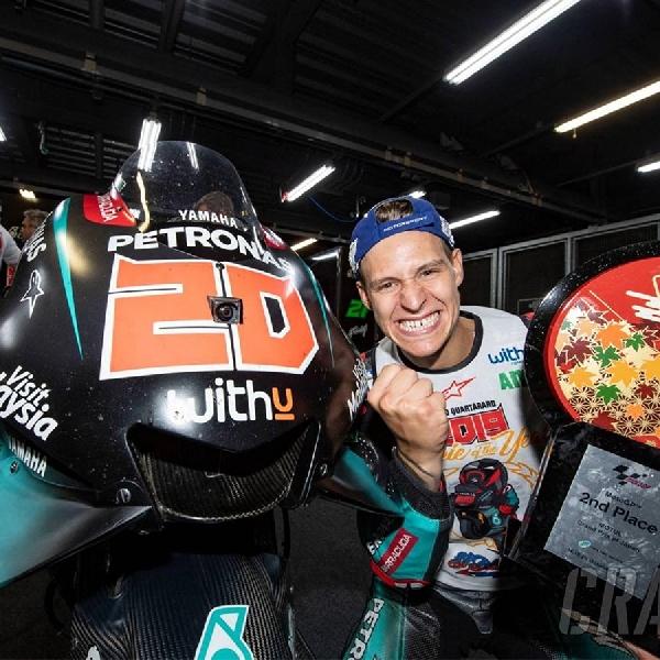 MotoGP: Finis di Posisi Kedua di GP Jepang, Fabio Quartararo Lampaui Target Musim Ini?