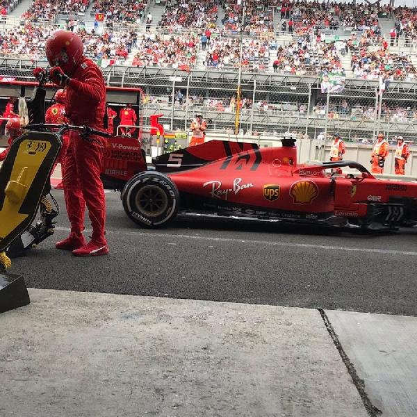 F1: Finis Kedua di Meksiko, Sebastian Vettel Anggap Mercedes Beruntung