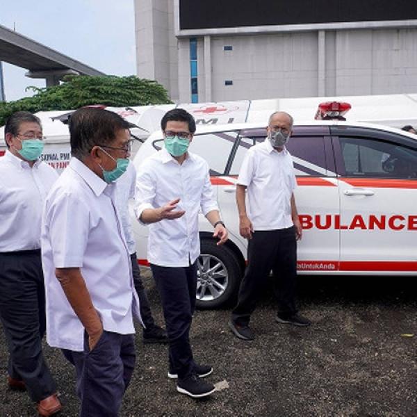 Perangi Covid-19, Toyota Indonesia Serahkan Bantuan Untuk Tenaga Medis
