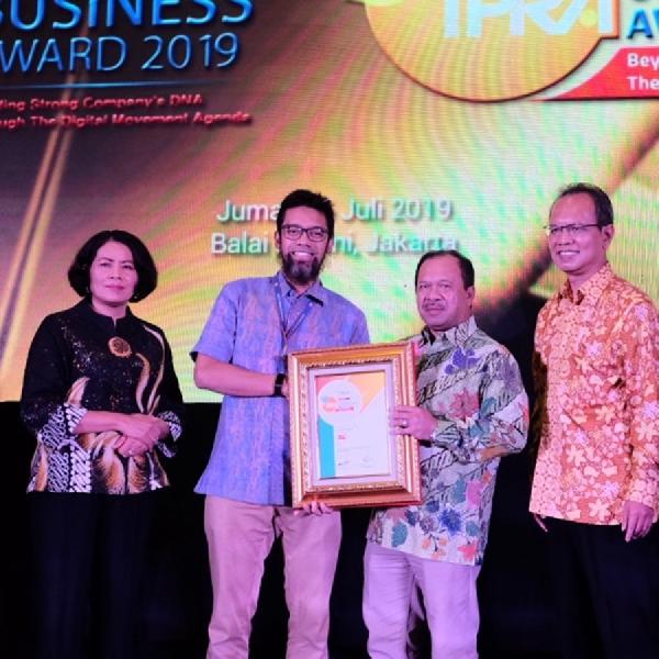 TAM Raih Penghargaan dari IPRA