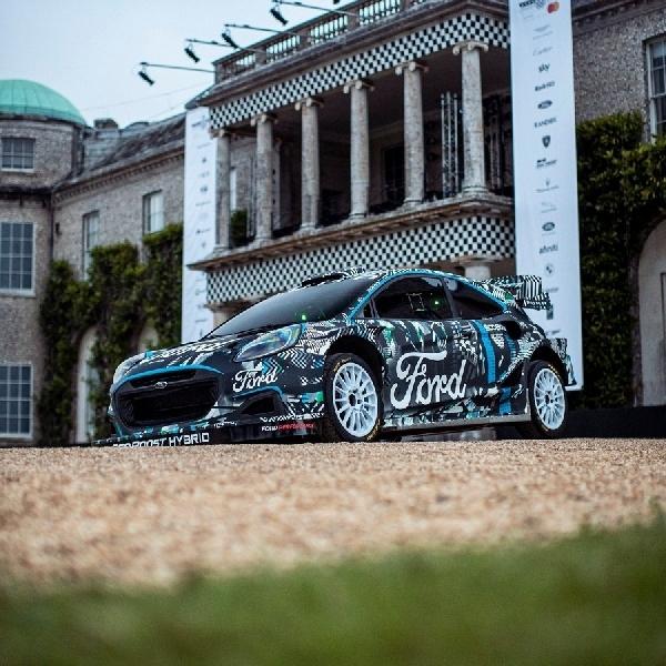 Ford dan M-Sport Gemparkan Goodwood FoS Dengan Prototipe Puma Rally1 WRC Hybrid