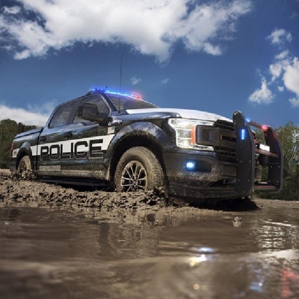 Pickup Ford Pertama Untuk Kepolisian